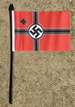 HAND WAVING FLAG (SMALL) - German WWII